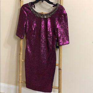 Stunning Sequin mini Dress